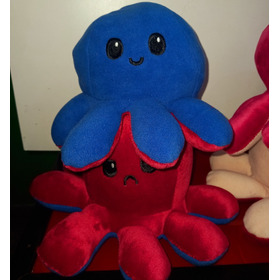 Pulpito Reversible Pulpo Peluche Plush Orig Collectoys