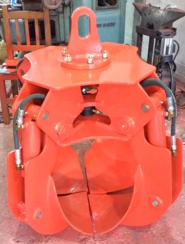 pulpo hidraulico para hidrogrua o excavadora