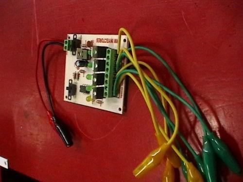 pulsador de 4 inyectores