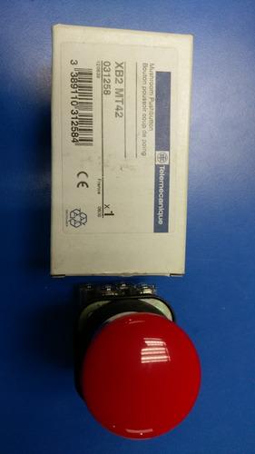 pulsador de emergencia con retencion