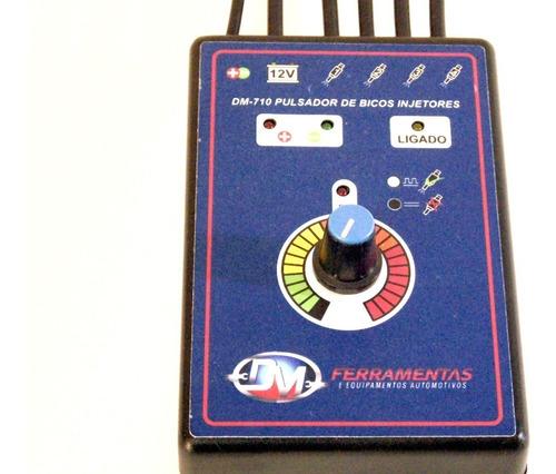 pulsador limpeza de bicos injetores c teste de polar dm-710