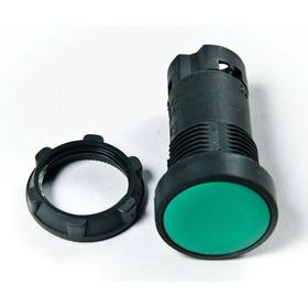Pulsador Na Color Verde, Plástico, Ref. Schneider Xb7ea31p
