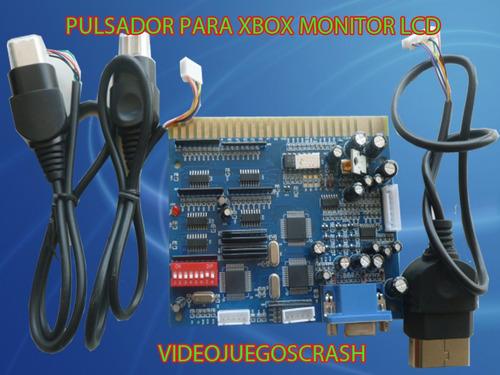 pulsador para x box monitor lcd a solo $530 pesos