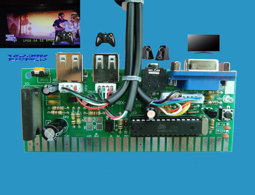 pulsador para xbox 360 control fullhd timer display