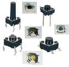 pulsadores tact switch varios modelos sw-831,832, 761,762...