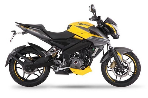 pulsar 200 ns amarilla tomamos tu moto