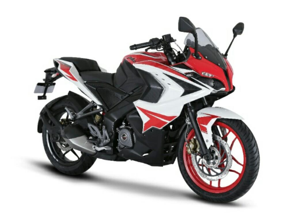 Pulsar 200 Ns Mod. 2020 Colores Rojo / Blanco - $ 43,999