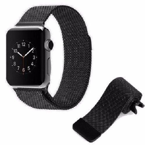 48e1bd18879 Pulseira Aco Milanese Aluminio Apple Watch 38mm   42mm 1 2 3 - R  42 ...