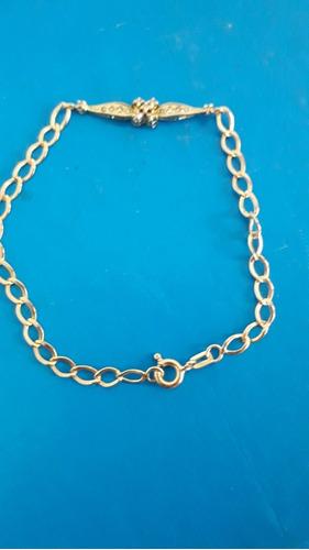 pulseira  adulto em ouro 18 k 3.9 gramas