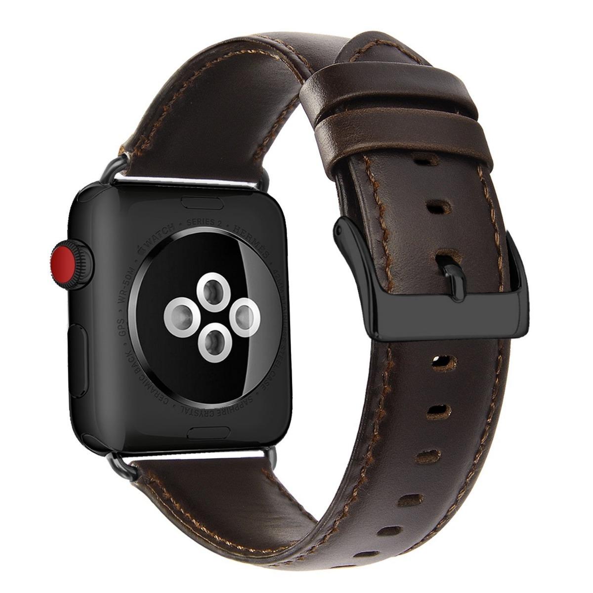 98dfbbace06 pulseira apple watch couro ou metal com detalhes (leia). Carregando zoom.