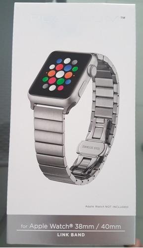 pulseira apple watch nova - platinum