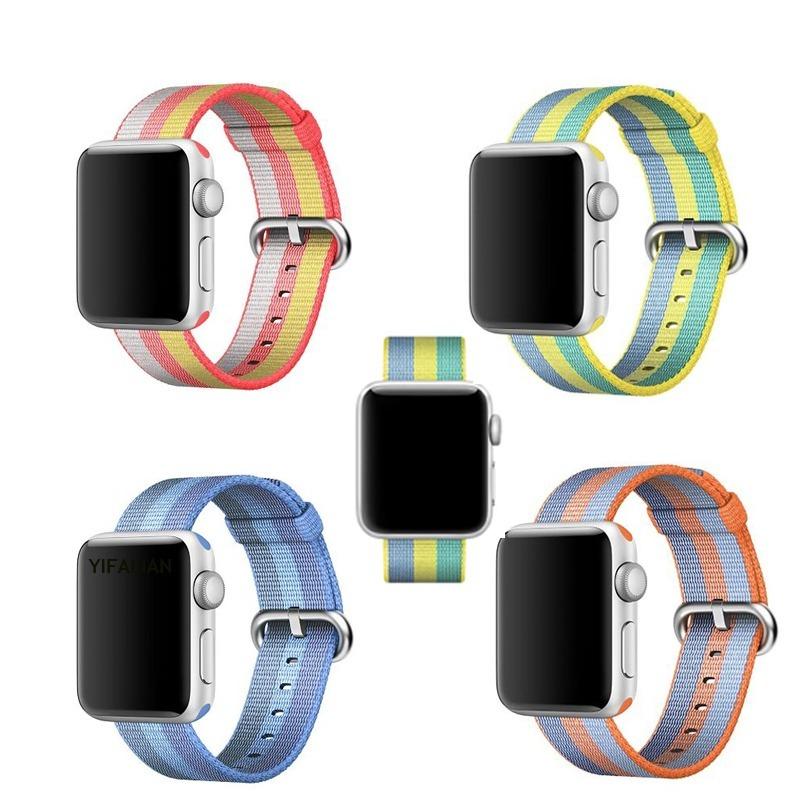 29415daa2c5 Pulseira Apple Watch Nylon 42 38mm Apple Watch Tecido Nylon - R  44 ...