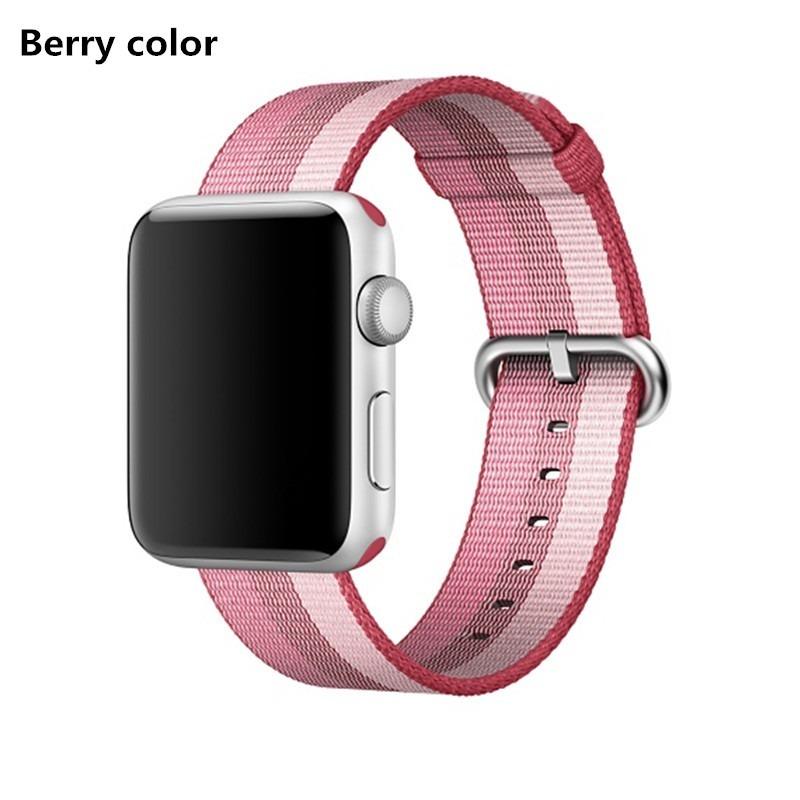 7ae5bb70b14 pulseira apple watch nylon iwatch 44mm series 4 e 42mm. Carregando zoom.