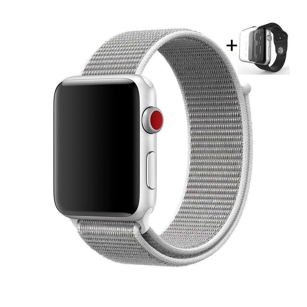 1d576a31111 pulseira apple watch nylon loop iwatch 38mm + case. Carregando zoom.