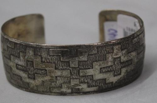 pulseira argentina de alpaca pampa larga-cod 24