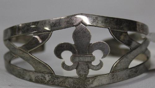 pulseira argentina de prata baixa-cod 22