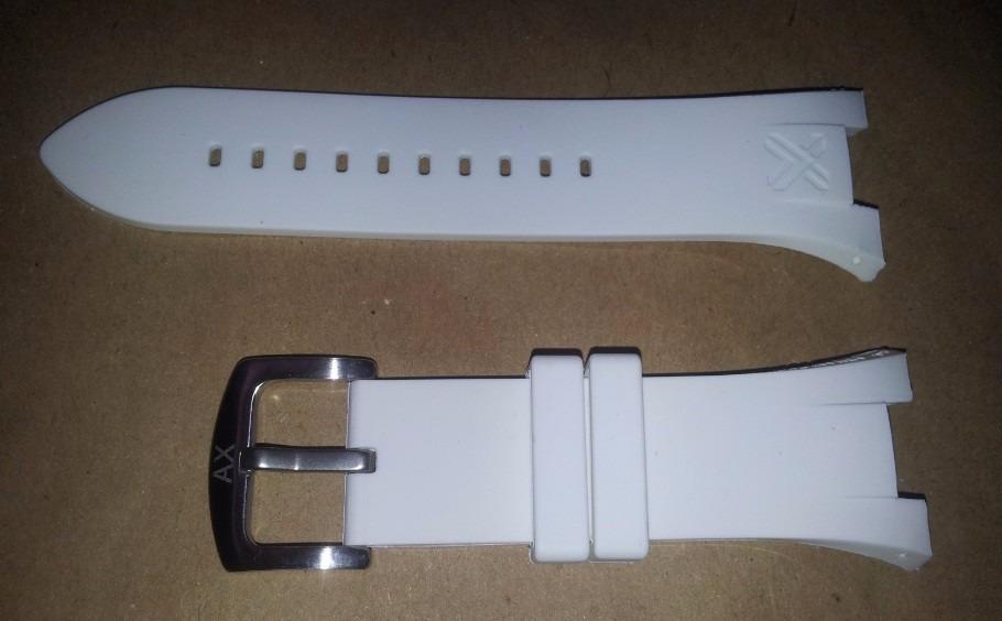 918a4eed652 pulseira armani ax1042 exchange ax1068 ax1183 ax1050 branca. Carregando  zoom.