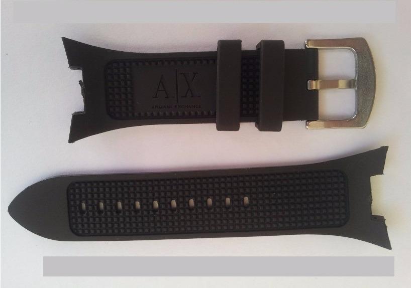 318e493da5b pulseira armani ax1068 preta p  exchange ax1040 adp ax1050. Carregando zoom.
