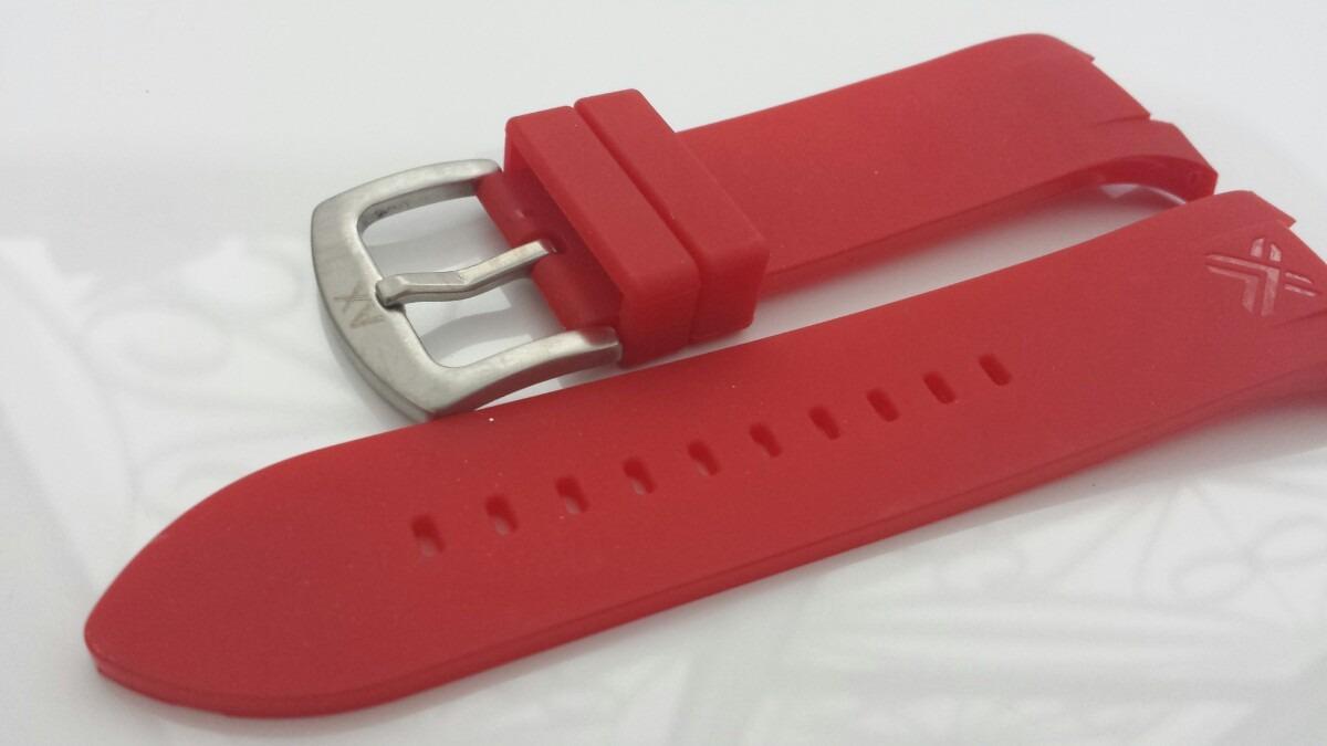631a3cc9986 pulseira armani exchange ax1050 ax1040 vermelha. Carregando zoom.