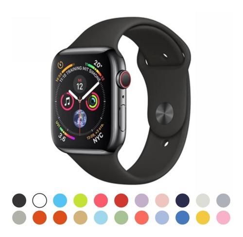 pulseira borracha esporte sport para apple watch series