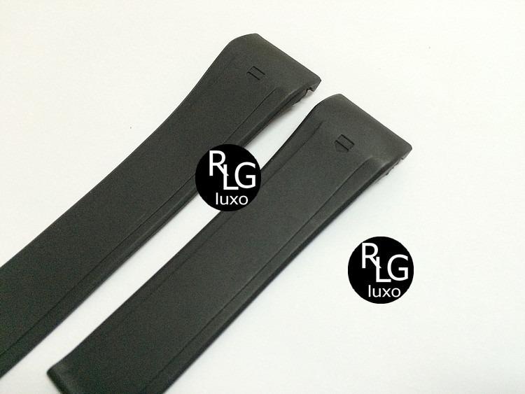 3f802789acd Pulseira Borracha Para Relógios Tag 1000 Mp4-12c - R  89