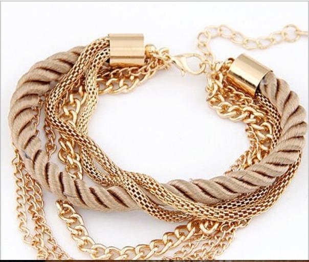 Pulseira Bracelete Acessórios Femininos - R  9 c6e1f0249ec