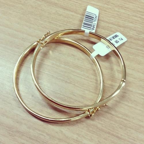 pulseira bracelete antialérgica - sabrina