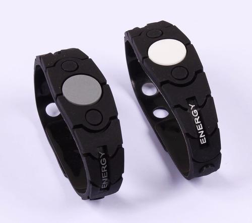 pulseira  bracelete energy pontos magneticos ivl