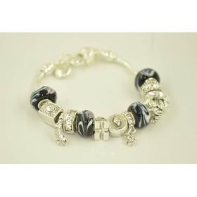 Pulseira Bracelete Estilo Pandora - Vivara 925 Prata Banho