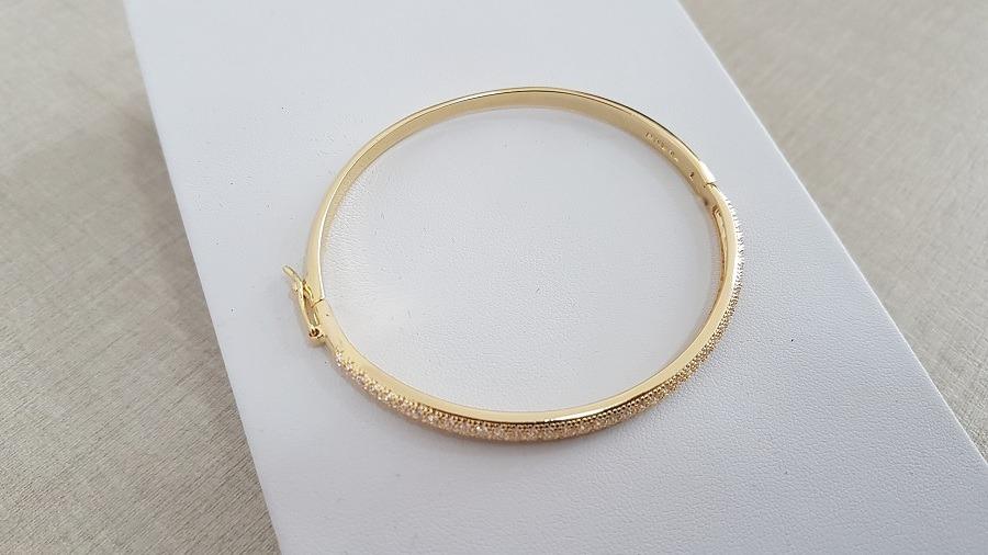pulseira bracelete folheado a ouro bruna semijoias - 6567. Carregando zoom. 93f186d507