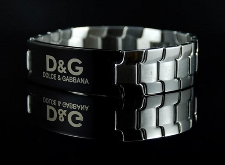 feaa804e1f0f6 Pulseira Bracelete Masculina Feminina Dolce Gabbana D   G - R  179 ...