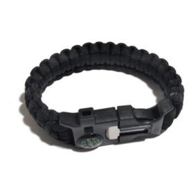 Pulseira Bracelete Paracord Masculino, Tático, Militar, 6x1