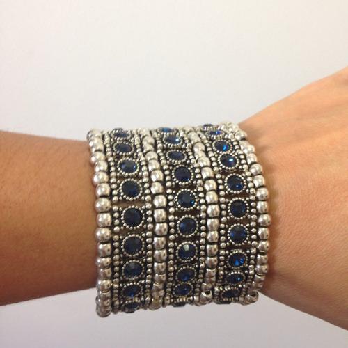 pulseira bracelete prata