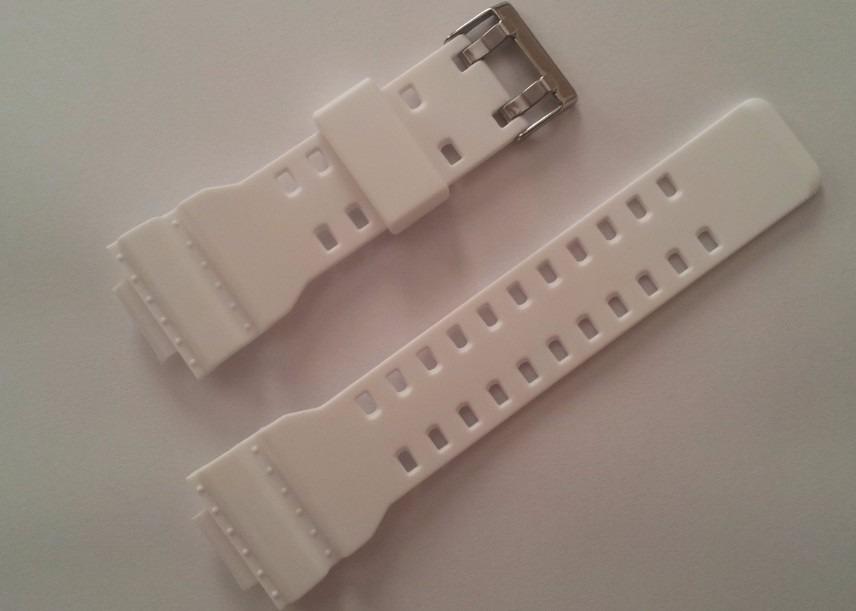 de732008a4c pulseira branca para casio g-shock ga-110 ga-120 ga-300. Carregando zoom.