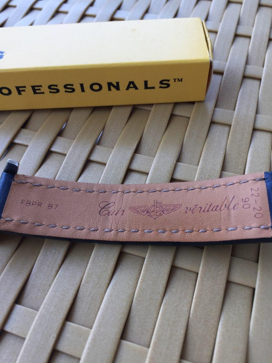 946cef51f88 Pulseira Breitling Deployant Blue - 112x - Original - R  2.250