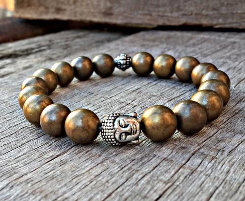 pulseira buddha buda ouro velho