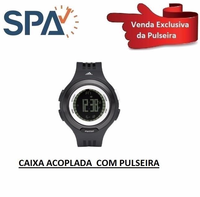 7808fb018e2a1 Pulseira+ Caixa Do Relógio adidas Adp-3066 100% Original - R  149