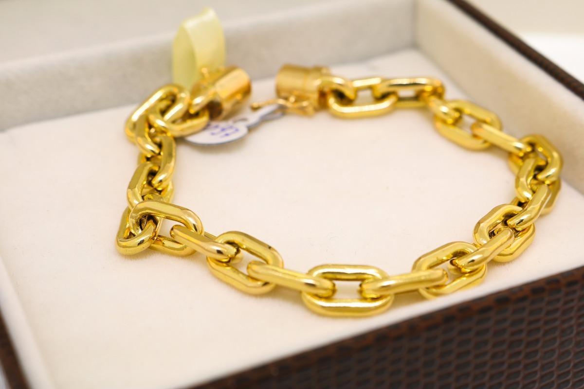 e4b44561613 pulseira cartier cadeado em ouro 18k (750) - 21 cm. Carregando zoom.