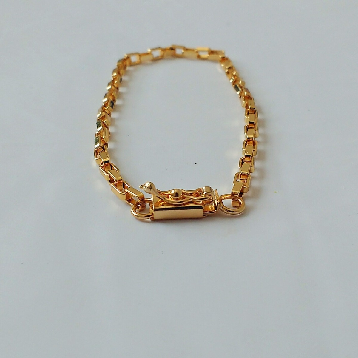 ead22064a7a pulseira cartier fecho gaveta 21cm  3mm - banhado a ouro. Carregando zoom.