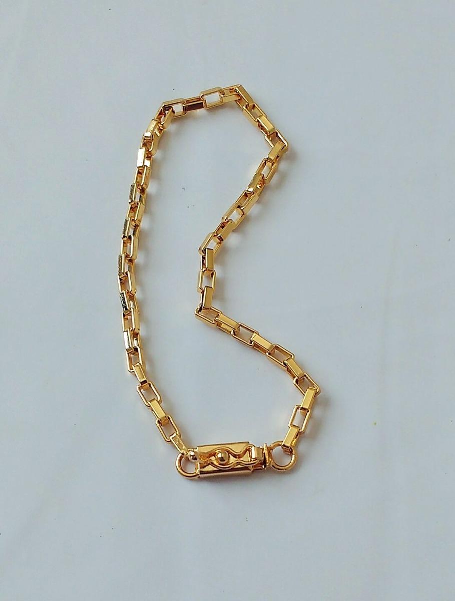 a4a9ced535a pulseira cartier masculina 21cm  3mm - banhado a ouro. Carregando zoom.