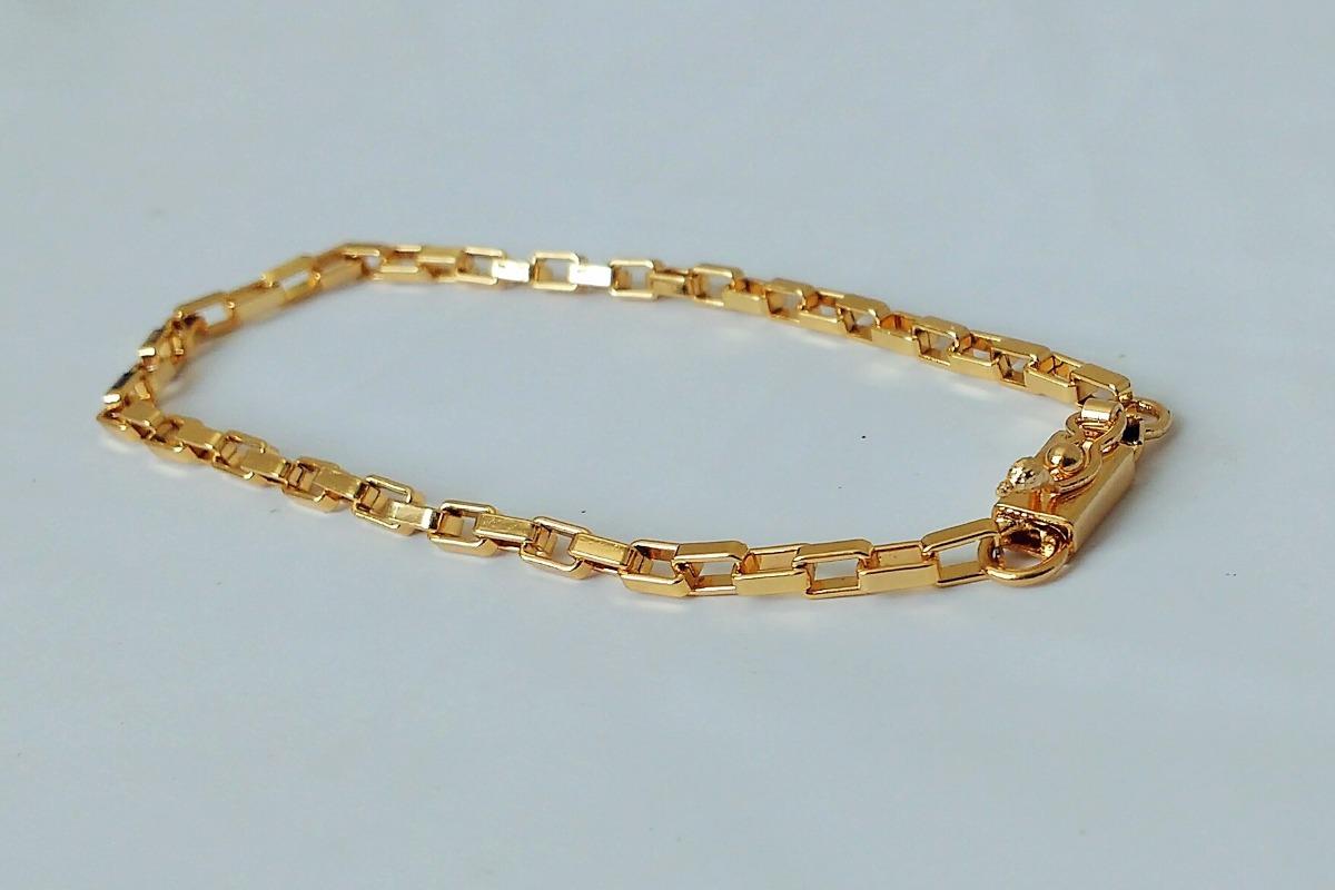 340adcf9c05 pulseira cartier masculina - banhado a ouro. Carregando zoom.