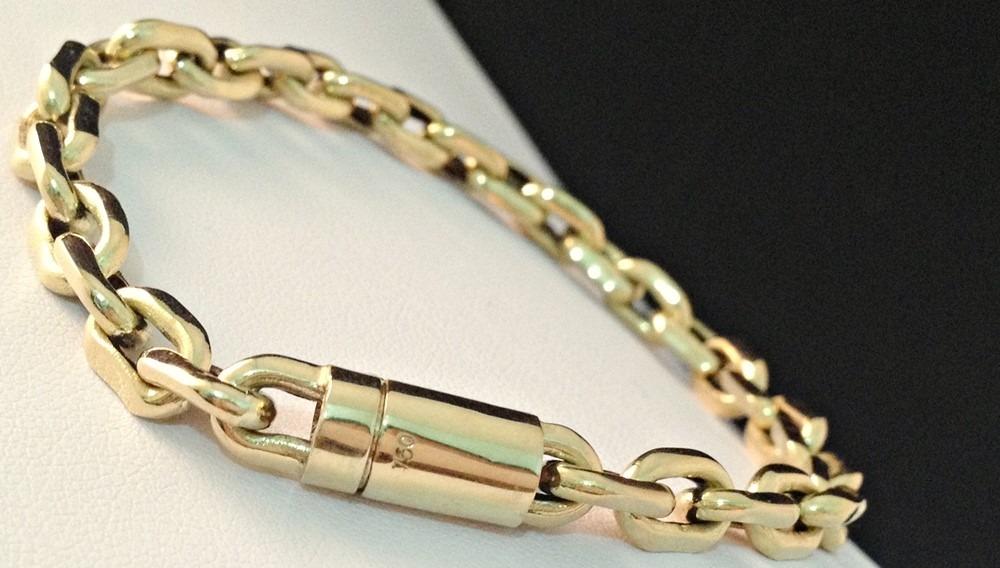 6683a171c2a pulseira cartier modelo italiano em ouro 18k 750 promoção. Carregando zoom.