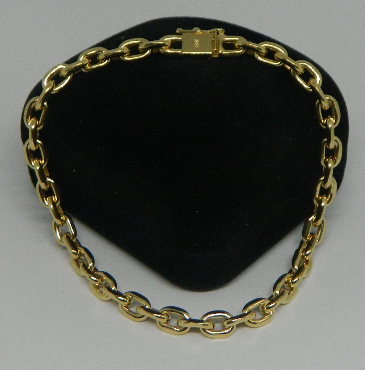 fe01075dd69 pulseira cartier ouro 18k 21cm 14.5 gramas!! Carregando zoom.