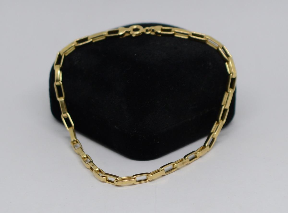 6aef3f011d5 pulseira cartier ouro 18k 750 22 cm. Carregando zoom.