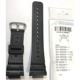 Pulseira Casio Dw-5600e Dw-5750 G-5600 G-5700 100% Original