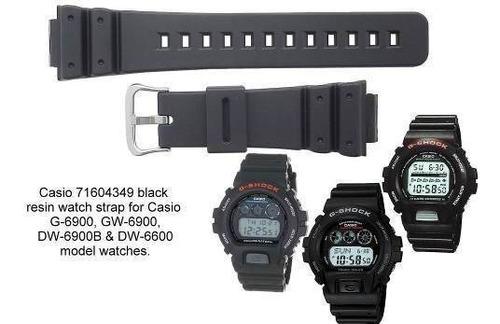 pulseira casio dw-5900 dw-6100 dw-6600 dw-6900 g-6900