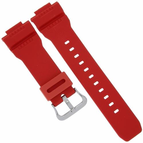 pulseira casio g-7900 gw-7900 original borracha vermelho