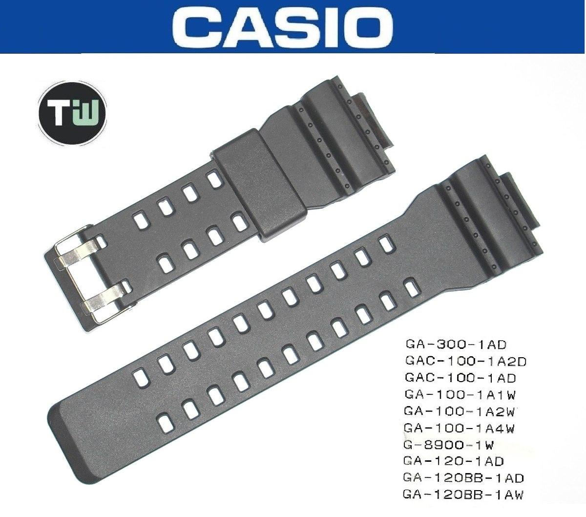 f04f6f62143 Pulseira Casio G-shock Ga-100 Ga-110 Ga-120 Gd-100 Similar - R  59 ...