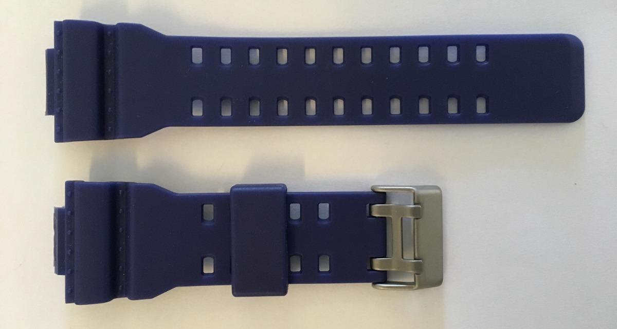 a346f978848 Pulseira Casio G-shock Ga100 Ga-110 Ga-120 Ga-300 Azul - R  19
