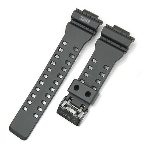 pulseira casio g-shock gd-100ms preto fosco - 100% original